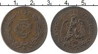 Изображение Монеты Мексика 5 сентаво 1935 Медь XF