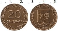 Изображение Монеты Мозамбик 20 сентаво 1936 Бронза XF Португальская колони
