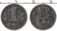 Изображение Монеты Дания 1 эре 1918 Железо XF- Кристиан X