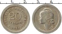 Изображение Монеты Португалия 20 сентаво 1920 Медно-никель XF