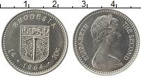 Продать Монеты Родезия 10 центов 1964 Медно-никель