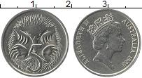 Изображение Монеты Австралия 5 центов 1988 Медно-никель XF Елизавета II.