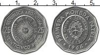 Изображение Монеты Аргентина 25 песо 1966 Медно-никель XF