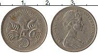 Изображение Монеты Австралия 5 центов 1980 Медно-никель XF Елизавета II