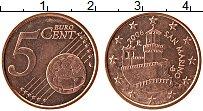 Изображение Монеты Сан-Марино 5 евроцентов 2006 Бронза UNC- Башня Гуаита