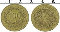 Изображение Монеты Тунис 100 миллим 2008 Латунь XF