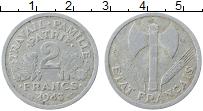 Изображение Монеты Франция 2 франка 1943 Алюминий XF