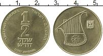 Продать Монеты Израиль 1/2 шекеля 2004 Бронза