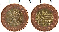 Изображение Монеты Чехия 50 крон 2009 Биметалл UNC-