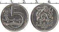 Изображение Монеты Чехия 5 крон 2009 Медно-никель XF+