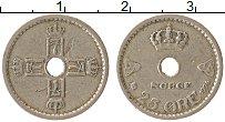 Изображение Монеты Норвегия 25 эре 1924 Медно-никель XF Хокон VII