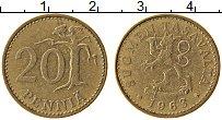 Изображение Монеты Финляндия 20 пенни 1963 Латунь XF