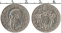Изображение Монеты Ватикан 20 сентесим 1930 Медно-никель XF