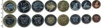 Изображение Наборы монет Галапагосские острова Галапагосские острова 2008 2008  UNC-
