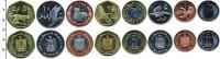 Изображение Наборы монет Палестина Палестина 2010 2010  UNC
