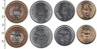 Изображение Наборы монет Индия Индия 2010 2010  UNC- В наборе 4 монеты но