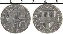 Изображение Монеты Австрия 10 шиллингов 1959 Медно-никель XF