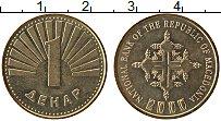 Продать Монеты Македония 1 денар 2000 Латунь