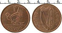 Изображение Монеты Ирландия 1 пенни 1963 Бронза XF+