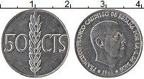 Изображение Монеты Испания 50 сентим 1966 Алюминий UNC- Франсиско Франко