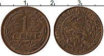 Изображение Монеты Нидерланды 1 цент 1926 Бронза XF