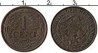 Изображение Монеты Нидерланды 1 цент 1927 Бронза XF