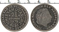 Изображение Монеты Нидерланды 2 1/2 гульдена 1979 Медно-никель UNC-