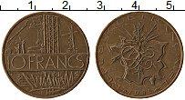 Изображение Монеты Франция 10 франков 1984 Бронза XF
