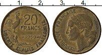 Изображение Монеты Франция 20 франков 1950 Латунь XF