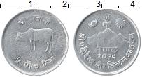 Изображение Монеты Непал 5 пайс 1982 Алюминий UNC-