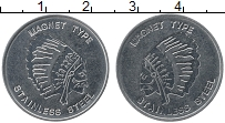 Изображение Монеты Германия Жетон 0 Железо UNC- Индеец