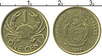 Изображение Монеты Сейшелы 1 цент 2004 Латунь UNC-
