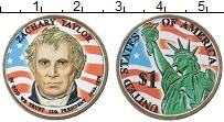 Изображение Монеты США 1 доллар 2009 Латунь UNC Цветная эмаль. 12-й