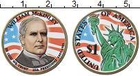 Изображение Монеты США 1 доллар 2013 Латунь UNC