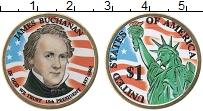 Изображение Монеты США 1 доллар 2010 Латунь UNC
