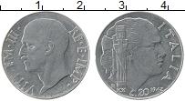 Изображение Монеты Италия 20 сентесим 1942 Медно-никель XF Витторио Эммануил II