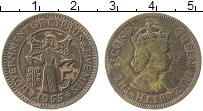 Изображение Монеты Кипр 5 милс 1955 Бронза XF Елизавета II