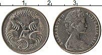 Изображение Монеты Австралия 5 центов 1981 Медно-никель UNC- Елизавета II