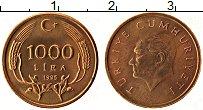 Изображение Монеты Турция 1000 лир 1995 Бронза UNC