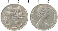 Изображение Монеты Австралия 20 центов 1968 Медно-никель XF Елизавета II