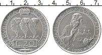 Изображение Монеты Сан-Марино 20 лир 1931 Серебро XF