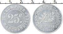 Изображение Монеты Франция 25 сантим 0 Алюминий UNC-