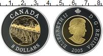 Изображение Монеты Канада 8 долларов 2005 Серебро Proof