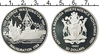 Продать Монеты Антигуа и Барбуда 30 долларов 1982 Серебро
