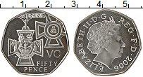 Изображение Монеты Великобритания 50 пенсов 2006 Серебро Proof- 150 лет со дня учреж