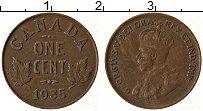 Изображение Монеты Канада 1 цент 1935 Бронза XF