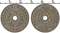 Изображение Монеты Родезия 1 пенни 1937 Медно-никель VF