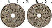 Изображение Монеты Родезия 1 пенни 1938 Медно-никель VF Георг VI