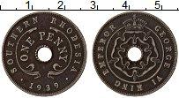 Изображение Монеты Родезия 1 пенни 1939 Медно-никель VF