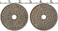 Изображение Монеты Родезия 1 пенни 1940 Медно-никель VF Георг VI